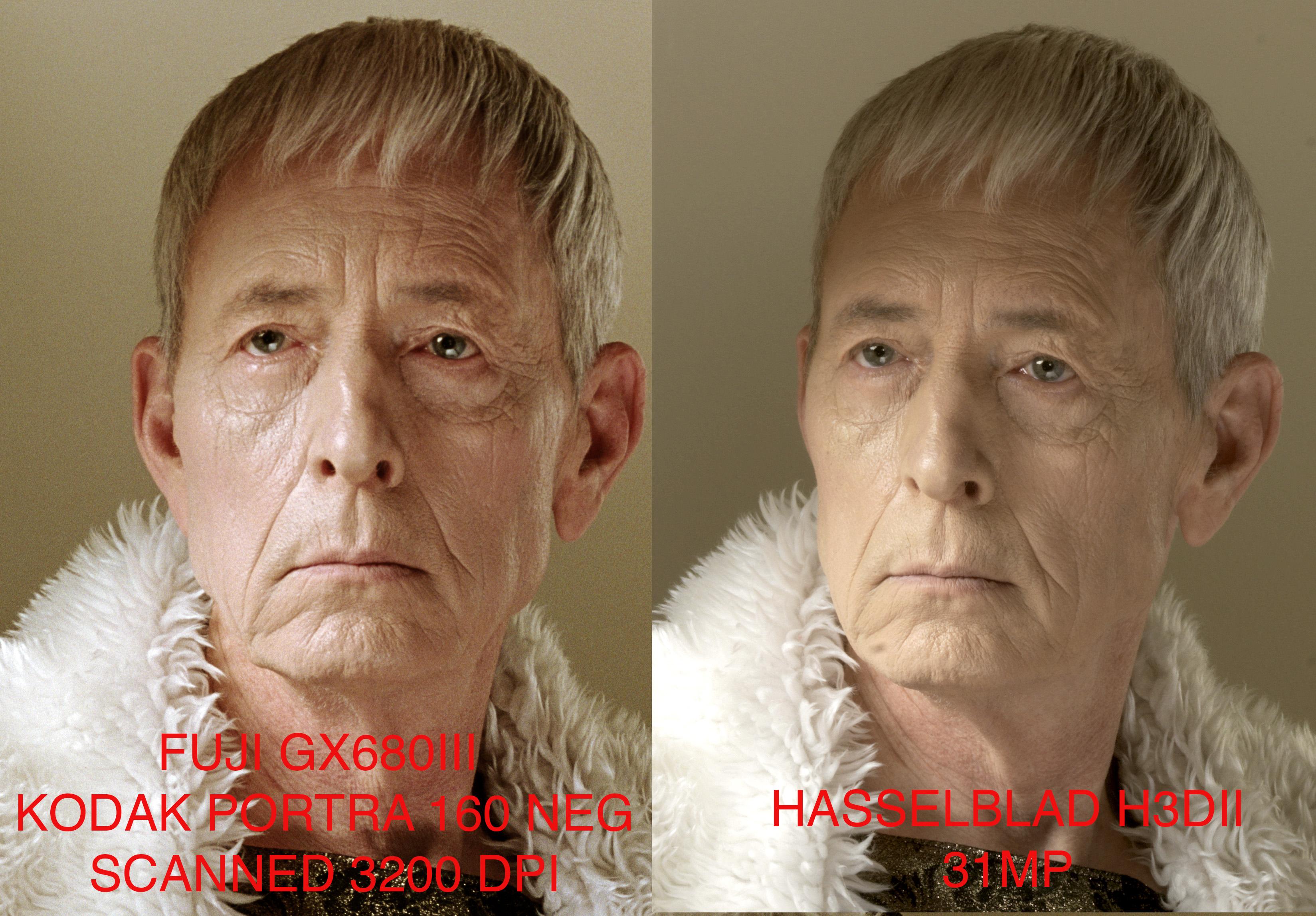 Film Vs. Digital comparison | clorstudios