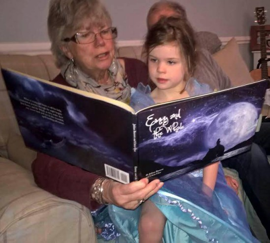 "Little girl is read ""Emmy"""